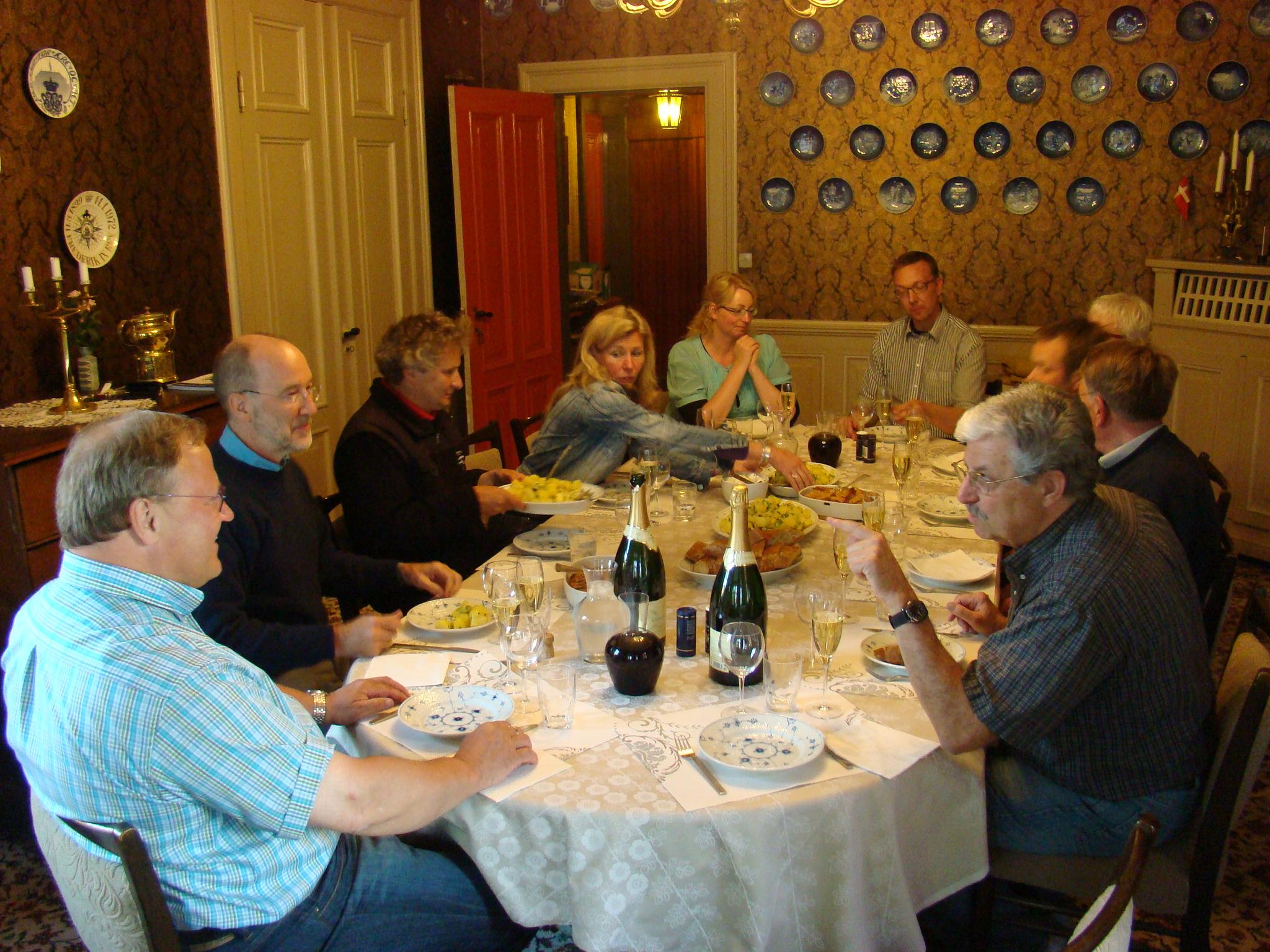 Dinner at Hotel Krogen